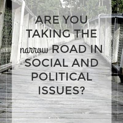 Are You Taking the Narrow Road in Social and Political Issues?
