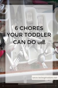 6 Chores Your Toddler Can Do Well