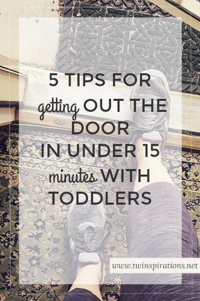 5 Tips for Getting Out the Door in Under 15 Minutes With Toddlers