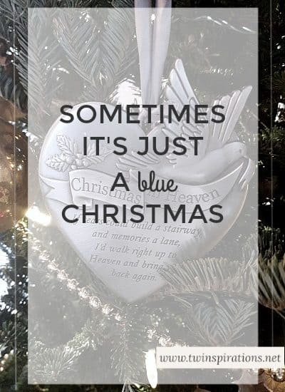 having a blue Christmas without you